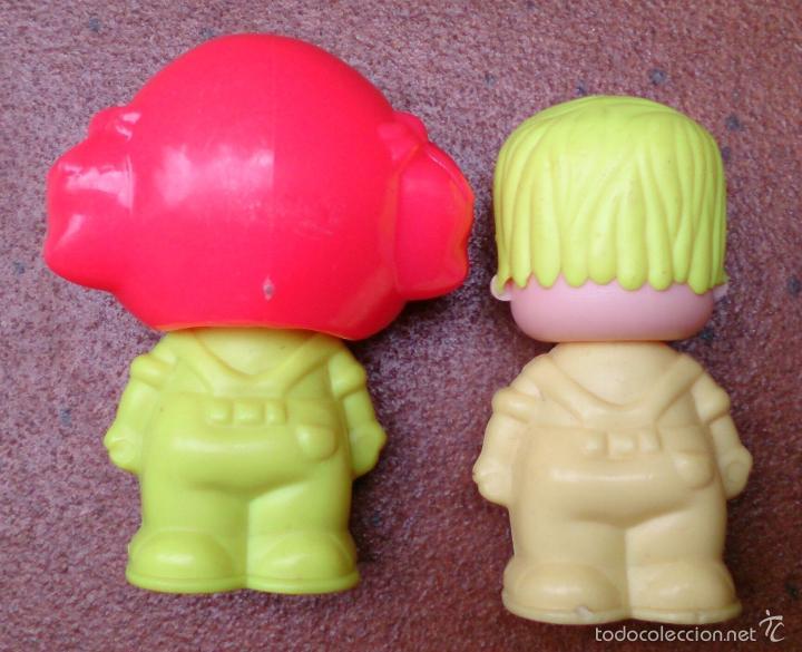 Muñecas Españolas Modernas: Figura Pinypon Pin y Pon Famosa años 80 pareja, lote 4 - Foto 2 - 155846138