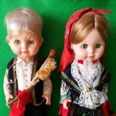Muñecas Españolas Modernas: PAREJA DE MUÑECAS REGIONALES DE TOYSE .. Lote 57569188