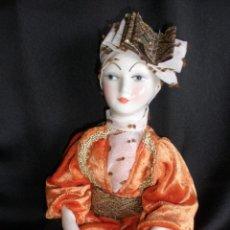 Muñecas Españolas Modernas - MUÑECA ARLEQUIN RAMON INGLES PORCELANA MUY FINA VALENCIANA - 56943367