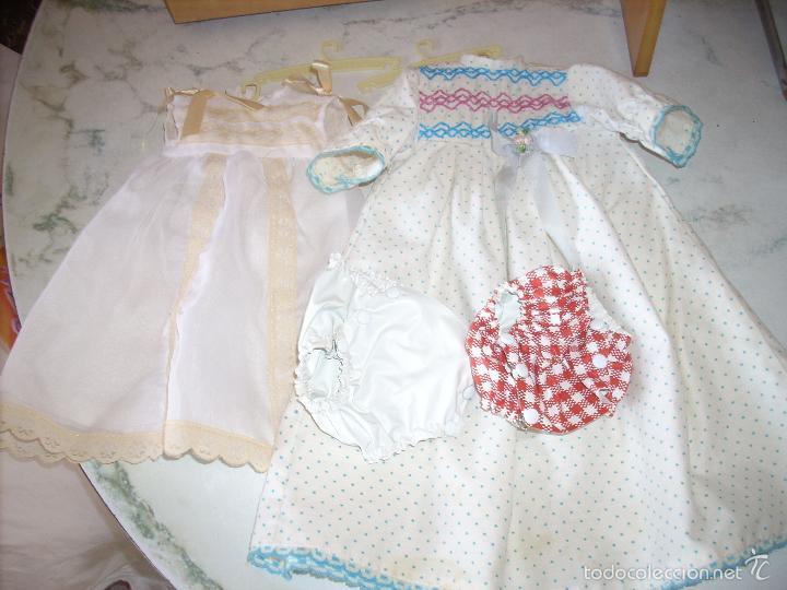 Muñecas Españolas Modernas: Baby Mocosete de Toyse, armario, canastilla y varios conjuntos de ropa - Foto 3 - 57092888