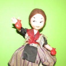 Muñecas Españolas Modernas: LA JIJONENCA - TURRONES - MUÑECA PUBLICIDAD - PROPAGANDA DE TURRON - AÑOS 60. Lote 57183479