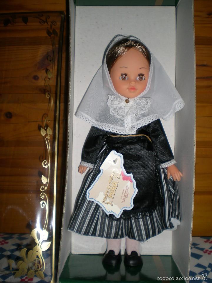 Muñecas Españolas Modernas: bonita muñeca castaña sin uso años 70 de javier mira dura onil alicante - Foto 3 - 57400622
