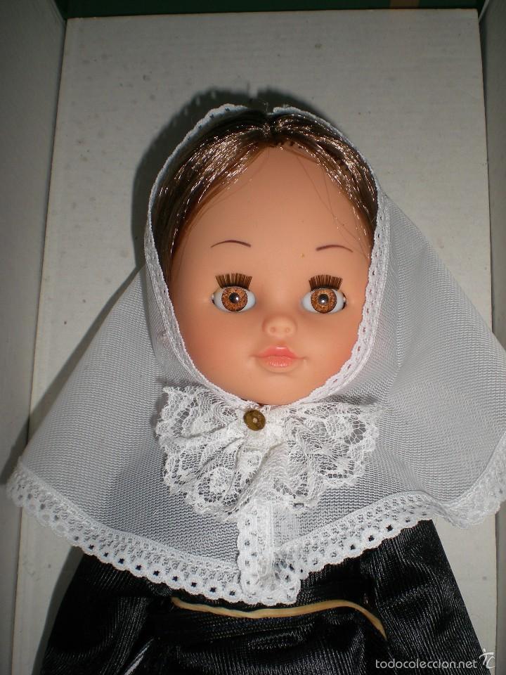 Muñecas Españolas Modernas: bonita muñeca castaña sin uso años 70 de javier mira dura onil alicante - Foto 4 - 57400622