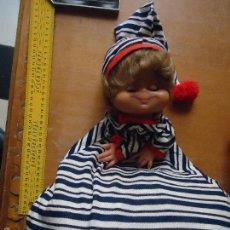 Muñecas Españolas Modernas: ANTIGUA MUÑECA MUÑECO GUARDA PIJAMA . Lote 57824671