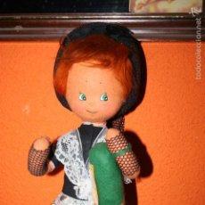 Muñecas Españolas Modernas: MUÑECA REGIONAL ANTIGUA FIELTRO. Lote 60946871