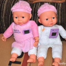 Muñecas Españolas Modernas: LOTE 2 MUÑECOS BABY CORAZON. Lote 63671355