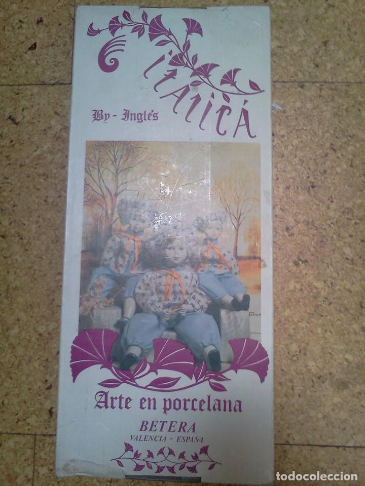 Muñecas Españolas Modernas: Muñeca de porcelana Ramon Ingles. - Foto 4 - 63794135