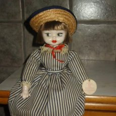 Muñecas Españolas Modernas: GRACIOSA MUÑECA DE PORCELANA,AÑOS 70.SILVESTRE.. Lote 66021918