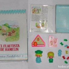 Muñecas Españolas Modernas: CUENTOS FAMILY FABER / FAMILYFEBER - EL FLAUTISTA DE HAMELÍN.. Lote 68843533