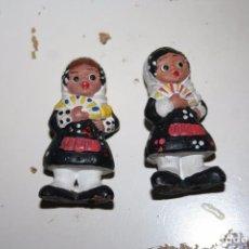 Muñecas Españolas Modernas: MUÑECAS REGIONALES ANTIGUAS DE BARRO . Lote 71085561