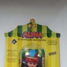 Muñecas Españolas Modernas: MUÑECA ALINA CIRCO DE B.B AÑOS 70 EN BLISTER. Lote 72830619