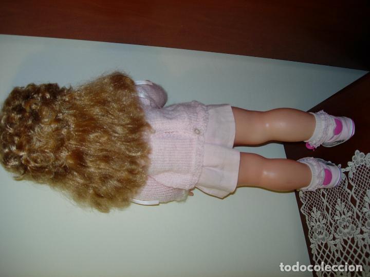 Muñecas Españolas Modernas: Muñeca desconocida de los años 60, parece de Novogama de 60 cm - Foto 9 - 74346239