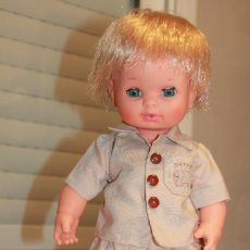 Muñecas Españolas Modernas: MUÑECO BABY MOCOSETE DE TOYSE. CONJUNTO SAFARI. AÑOS 70. INFORMACIÓN Y FOTOS ADJUNTAS.. Lote 81630252