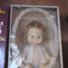 Muñecas Españolas Modernas: MUÑECA MELINA DE BB. AÑOS 60. NUEVA EN CAJA, UNA RAREZA. ÚNICA EN TC. Lote 83155076