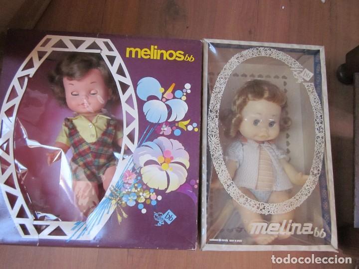 Muñecas Españolas Modernas: Muñeca Melina de BB. Años 60. Nueva en caja, una rareza. Única en TC - Foto 6 - 83155076