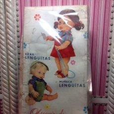 Muñecas Españolas Modernas: MUÑECA LENGUITAS DE ICSA EN CAJA. Lote 84630271