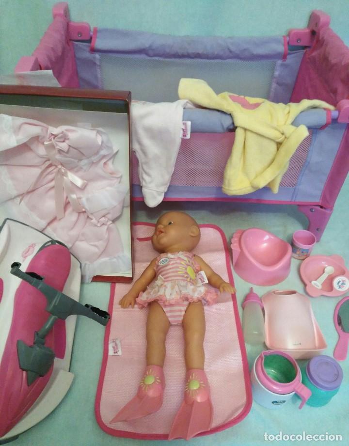 LOTE DE MUÑECO BABY BORN,ESPECIAL PARA VACACIONES (Juguetes - Otras Muñecas Españolas Modernas)