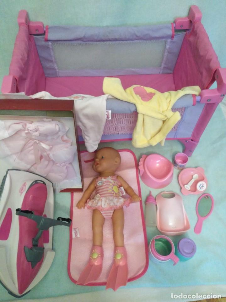 Muñecas Españolas Modernas: Lote de muñeco Baby Born,especial para vacaciones - Foto 6 - 84889968