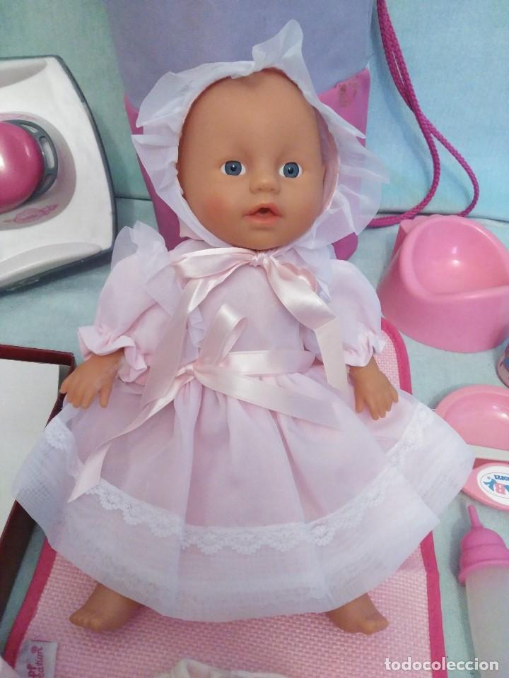 Muñecas Españolas Modernas: Lote de muñeco Baby Born,especial para vacaciones - Foto 7 - 84889968