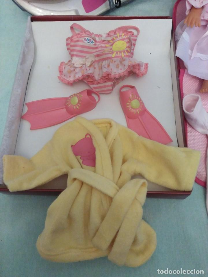Muñecas Españolas Modernas: Lote de muñeco Baby Born,especial para vacaciones - Foto 8 - 84889968