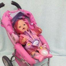 Bambole Spagnole Moderne: LOTE DE MUÑECO BABY BORN,TODO ORIGINAL. Lote 84890340