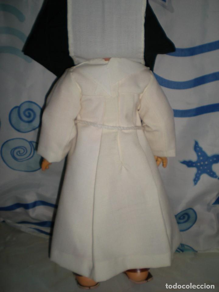Muñecas Españolas Modernas: muñeca años 50/60 habito monja 47 cm posiblemente cristina novo gama serie delta? brazos con gomas - Foto 9 - 86170028