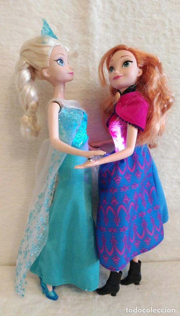 Muñecas Españolas Modernas: Lote de muñecas Elsa y Anna de FROZEN - Foto 2 - 86360680