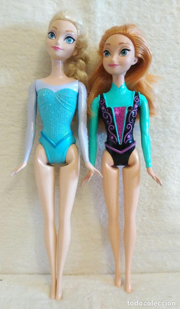 Muñecas Españolas Modernas: Lote de muñecas Elsa y Anna de FROZEN - Foto 3 - 86360680