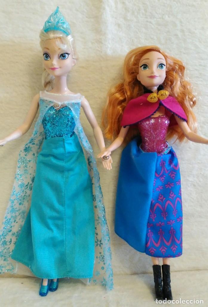 Muñecas Españolas Modernas: Lote de muñecas Elsa y Anna de FROZEN - Foto 6 - 86360680