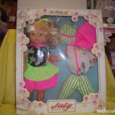Muñecas Españolas Modernas: TROUSSEAU JULY DE JESMAR, AÑO 1990, NUEVO SIN ABRIR.. Lote 86432152