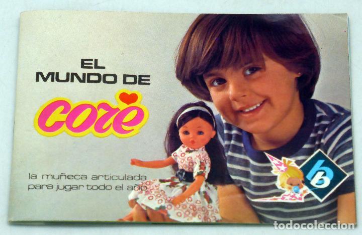 CATÁLOGO CORE BB 1977 EL MUNDO DE CORE (Juguetes - Otras Muñecas Españolas Modernas)