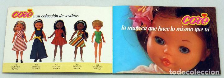 Muñecas Españolas Modernas: Catálogo Core BB 1977 El mundo de Core - Foto 2 - 86639284