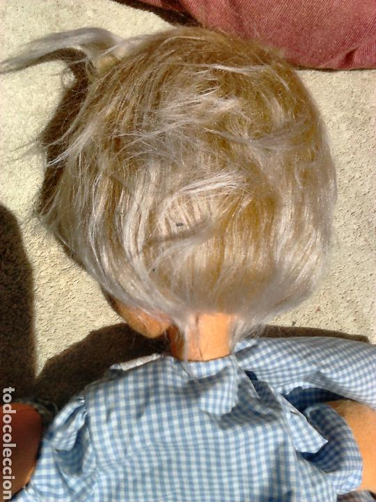 Muñecas Españolas Modernas: Preciosa muñeca, de fieltro,guarda pijama,años 70-80 - Foto 7 - 86997295