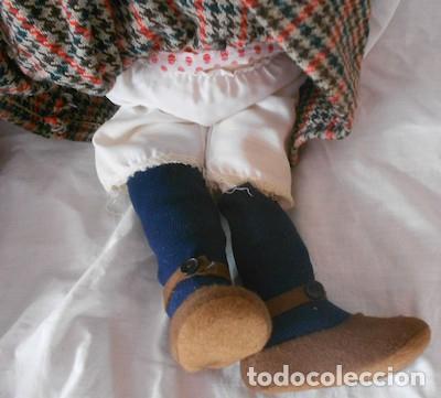 Muñecas Españolas Modernas: PAREJA DE MUÑECOS DE GOMA Y TRAPO - Foto 9 - 87040784