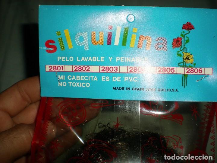Muñecas Españolas Modernas: muñeco negro+ biberon y babero silquillin o silquillina de silqui jose quilis spain años 70 nuevo - Foto 5 - 103143096