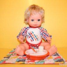 Muñecas Españolas Modernas: MUÑECO BABY MOCOSETE DE TOYSE - AÑOS 70. Lote 87612364
