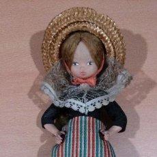 Muñecas Españolas Modernas: MUÑECA ARTESANIA BEIBI - AUTENTICO TRAJE REGIONAL - MADE IN SPAIN. Lote 87818992