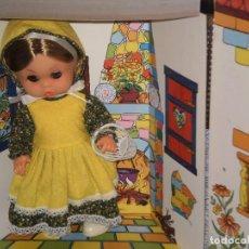 Muñecas Españolas Modernas: MUÑECA EN CAJA MI CASITA , REF: 321 . PSS ( MADE IN SPAIN ) AÑOS 70 . VER DESCRIPCION. Lote 89023412