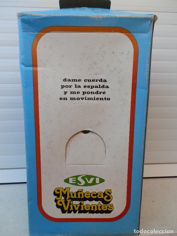 Muñecas Españolas Modernas: ANTIGUA MUÑECA VIVIENTE AUTÓMATA NICASIA FABRICANTE ESVI MADE IN SPAIN AÑOS 70. - Foto 6 - 92287295