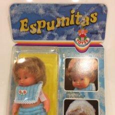Muñecas Españolas Modernas: MUÑECA ESPUMITAS 15X6CM. Lote 96319322
