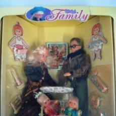 Muñecas Españolas Modernas: CHABEL: LA FAMILIA DE CHABEL. DE FEBER. ¡¡NUEVA Y ORIGINAL!! CAJA IMPECABLE. AÑOS 90.. Lote 98615171