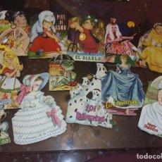 Muñecas Españolas Modernas: 12 CUENTOS TROQUELAS , AÑOS 60-70. Lote 98716323