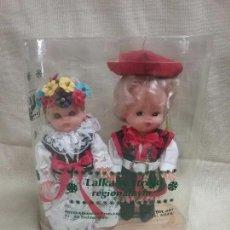 Muñecas Españolas Modernas: PAREJA DE MUÑECA MUÑECAS REGIONALES POLONIA - EN CAJA . Lote 99161047