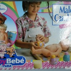 Muñecas Españolas Modernas: BABYBEBÉ: MALETÍN CAMBIADOR CONVERTIBLE BABYBEBÉ. DE FEBER ¡NUEVO, ORIGINAL!CAJA IMPECABLE. AÑOS 90.. Lote 99280091