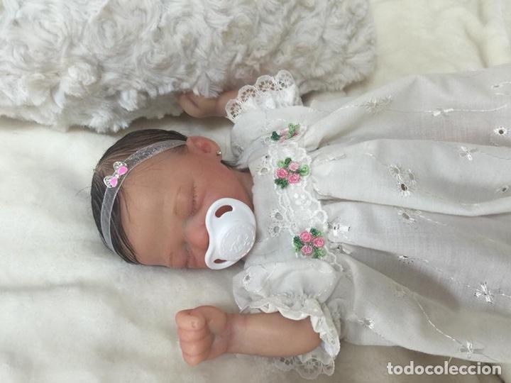 Muñecas Españolas Modernas: Reborn mini Zane de Marita Winters de 23 cm - Foto 3 - 99631551