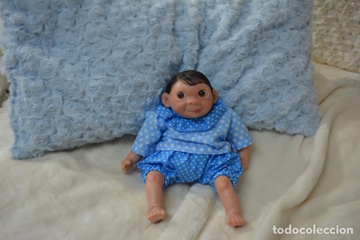 Muñecas Españolas Modernas: Reborn mini Orejón de 23 cm Cucurella - Foto 3 - 99634304