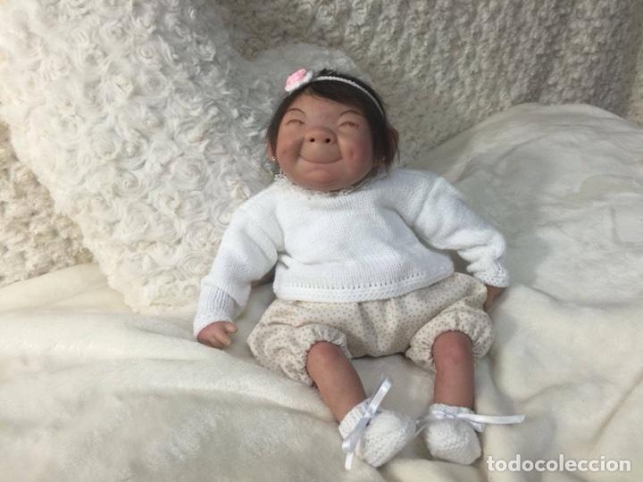 Muñecas Españolas Modernas: Reborn mini Orejón de 30 cm Clare - Foto 2 - 99640482