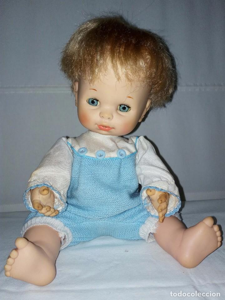Muñecas Españolas Modernas: MUÑECO BABY MOCOSETE AÑOS 70 TOYSE, ANTIGUO, ESPAÑA - Foto 2 - 100767895