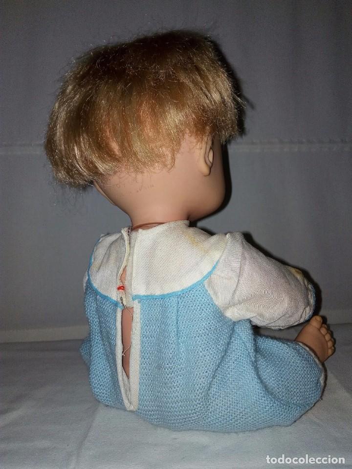Muñecas Españolas Modernas: MUÑECO BABY MOCOSETE AÑOS 70 TOYSE, ANTIGUO, ESPAÑA - Foto 7 - 100767895