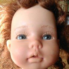 Muñecas Españolas Modernas - Muñeca Paula? Mariquita Pérez C.E pelirroja, castaña, ojos azules miel de abeja 1998 - 101187567